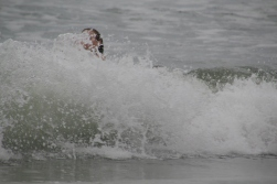 the waves were outstanding!