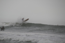 it was cool to watch the surfers!